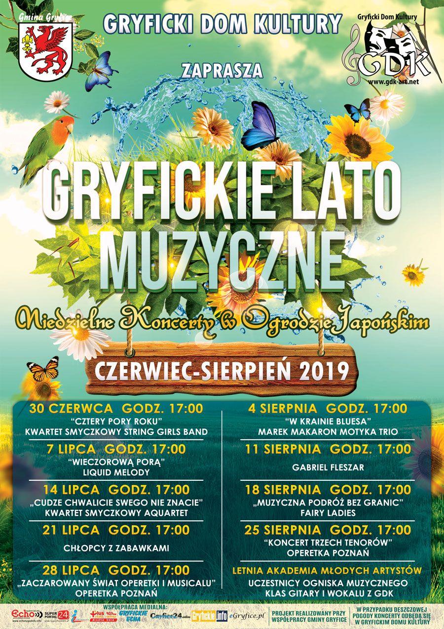Startuje Gryfickie Lato Muzyczne 2019.
