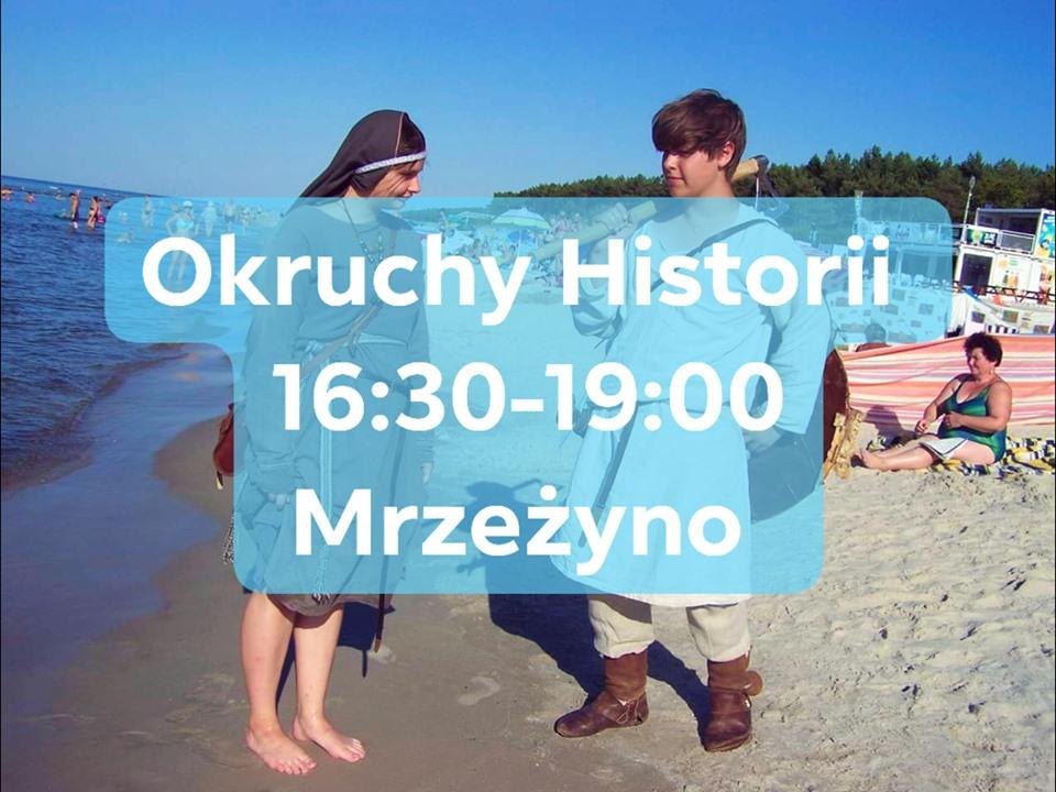 Atrakcje turystyczne w Trzebiatowie i Mrzeżynie - walki rycerzy, poszukiwanie pirata i okruchy historii w każdy wakacyjny wtorek.