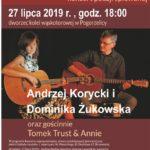 27 lipca w Pogorzelicy odbędzie się koncert poezji śpiewanej.