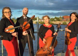Kwartet smyczkowy Aquartet zaprezentuje się na koncercie w ramach Gryfickiego Lata Muzycznego.