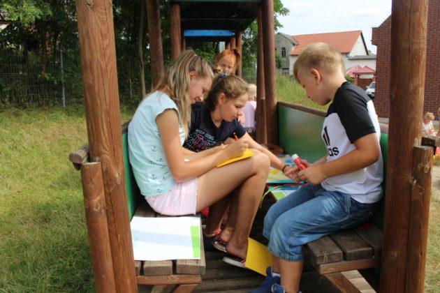 Czytające podwórka Chomętowo