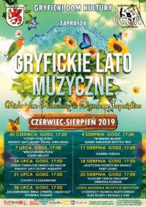 Gryfickie Lato Muzyczne 2019
