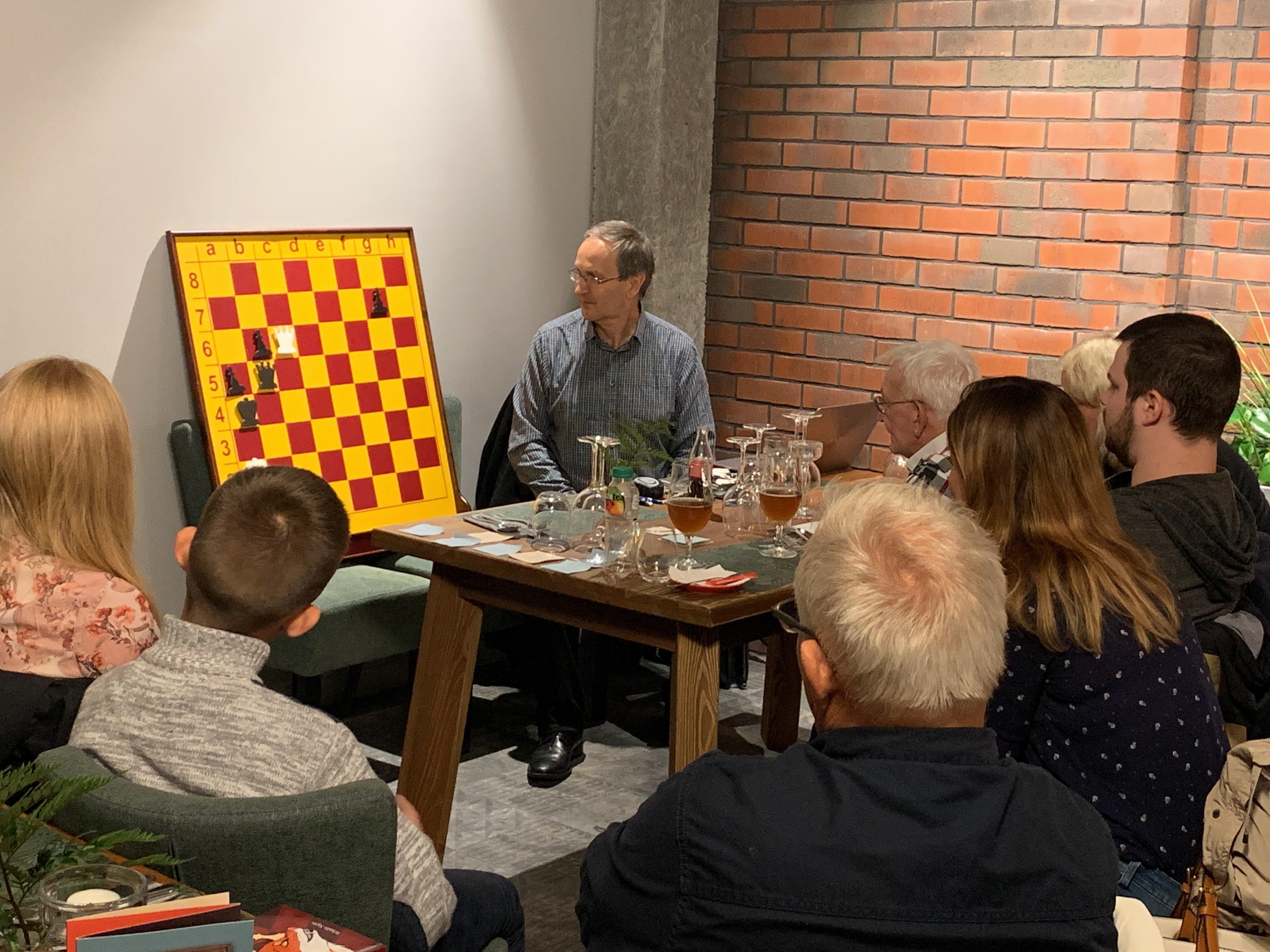 Browar Folga gości spotkanie szachowe