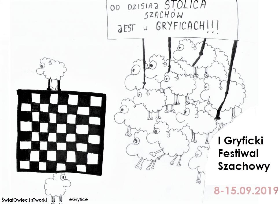 Wystartował I Gryficki Festiwal Szachowy! Obrazek: https://www.facebook.com/owceistworki/