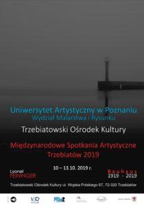 międzynarodowe spotkania artystyczne Trzebiatów 2019