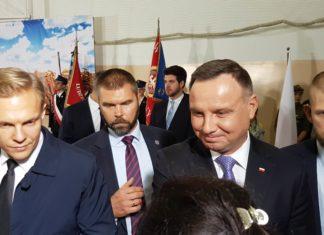 Prezydent Andrzej Duda w Brojcach
