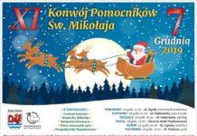 Konwój Pomocników Św. Mikołaja w Gminie Rewal