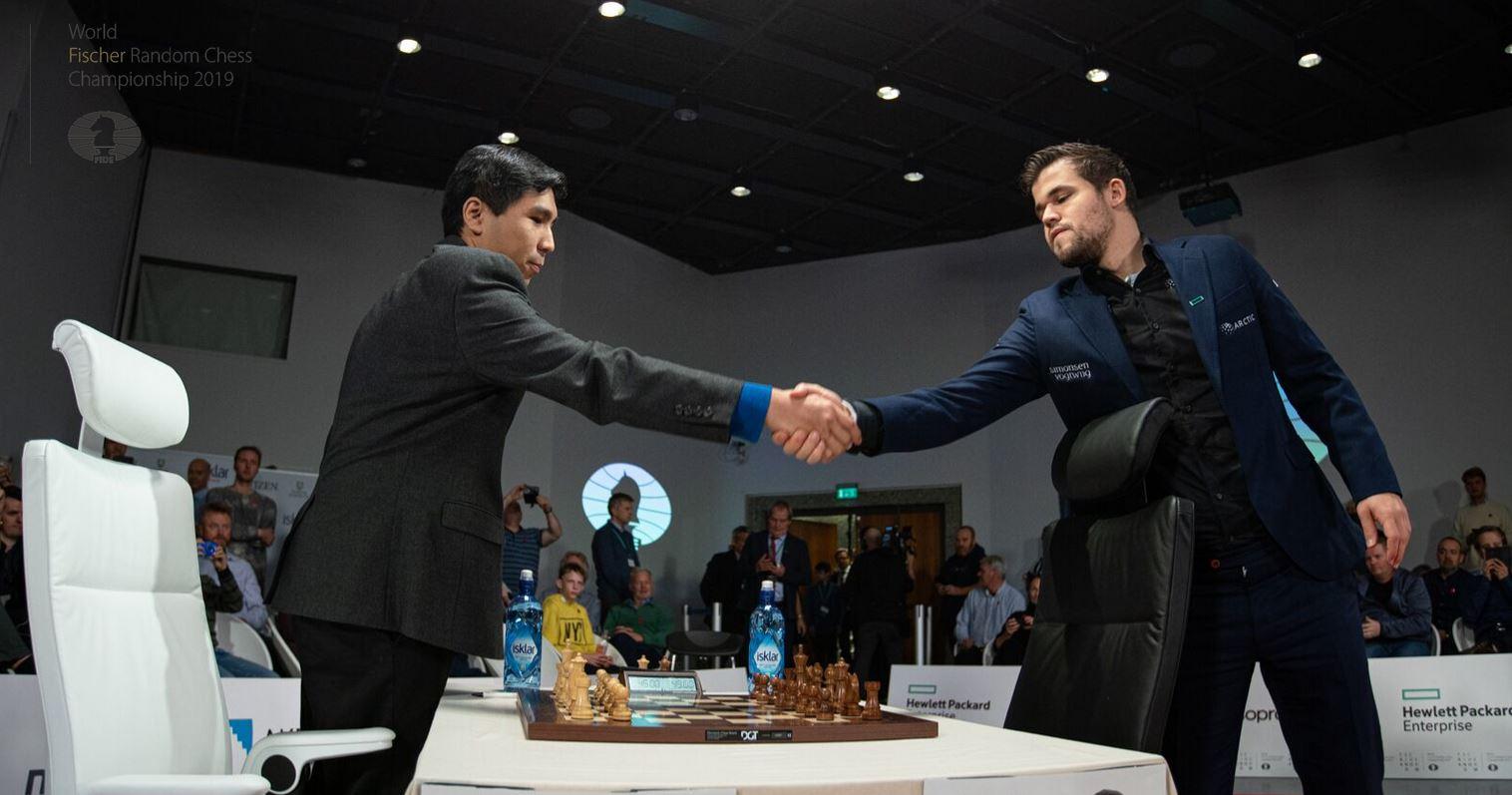 Wesley So historycznym pierwszym mistrzem świata w szachach Fischera
