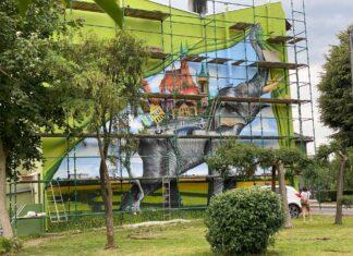 mural trzebiatów koniec