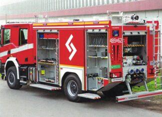 wóz strażacki dla pobierowa