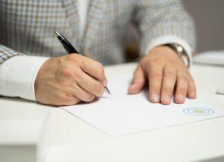 podpis dokument