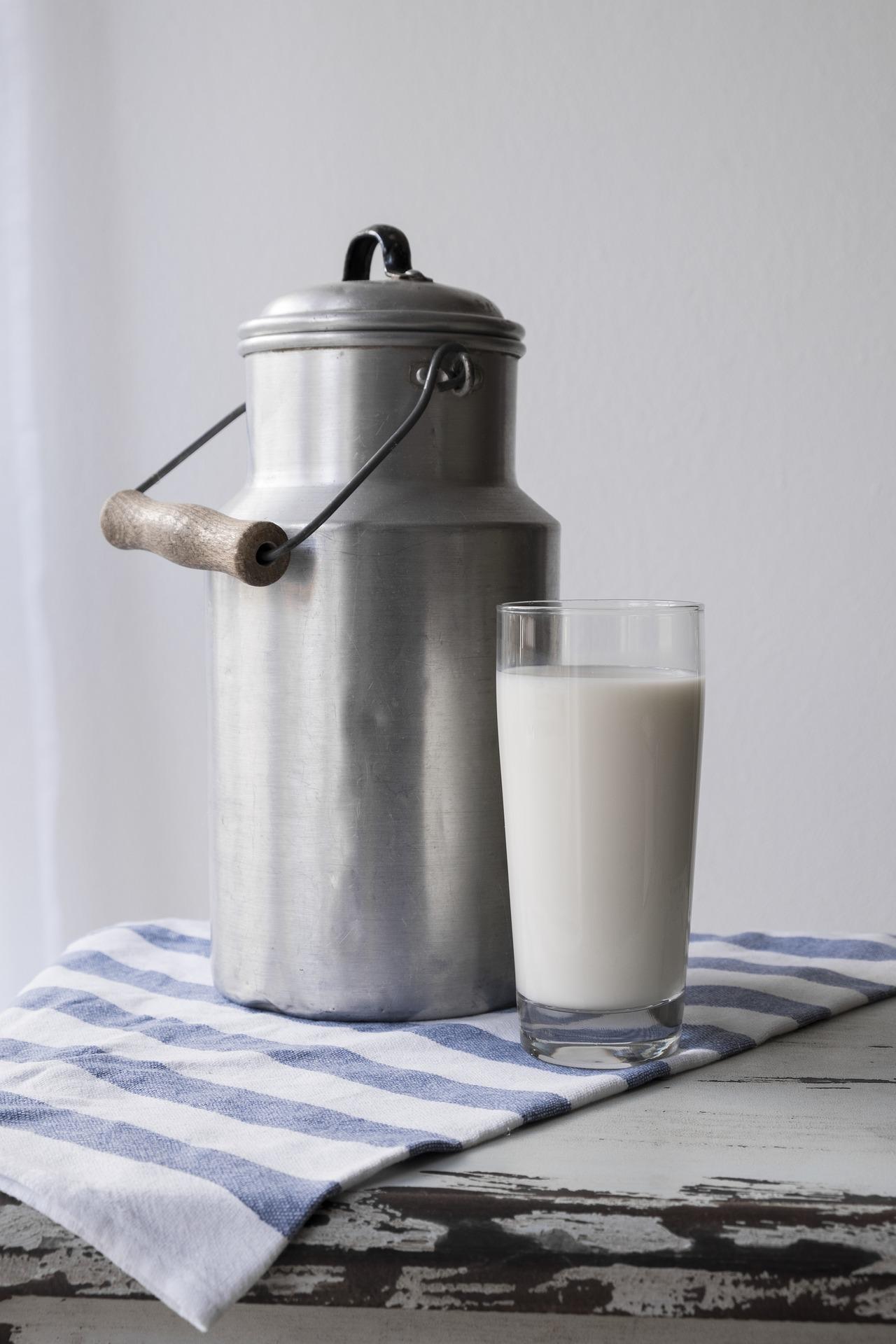 Wapń znajdziemy m.in. w mleku i jego przetworach