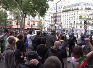 protest francja