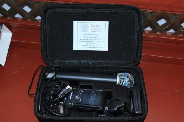 mikrofon nakamerowy - tok